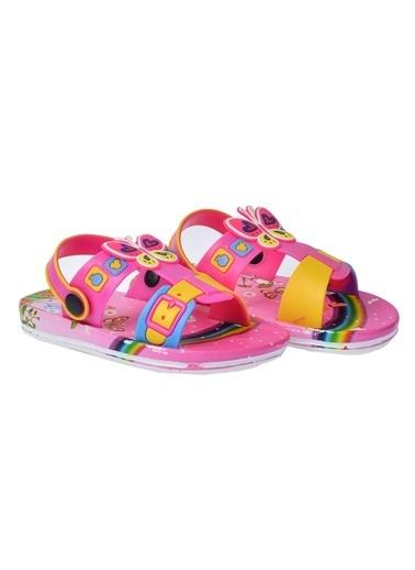 Kiko Kids Kiko Akn E240.012 Plaj Havuz Kız Çocuk Sandalet Terlik Fuşya
